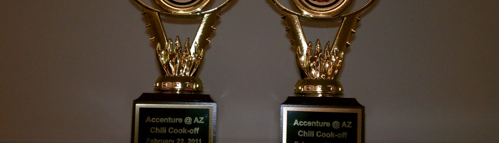 Trophies for chili